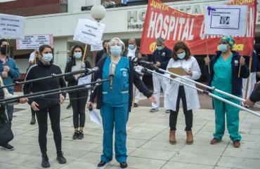 Médicos del Hospital Garrahan pidieron mejores protocolos y denuncian que hay 209 profesionales contagiados de COVID-19