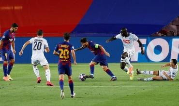 VIDEO: el increíble golazo de Messi ante Nápoli por Champions League