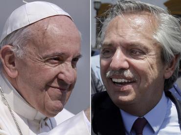 Alberto Fernández habló con el Papa Francisco: agradeció su apoyo en negociación con bonistas por la deuda