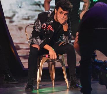 Lizardo Ponce se olvidó la letra de la canción y se quedó mudo en el Cantando 2020