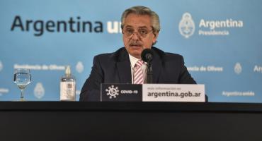 Alberto Fernández advirtió que anuncio sobre vacuna de Oxford