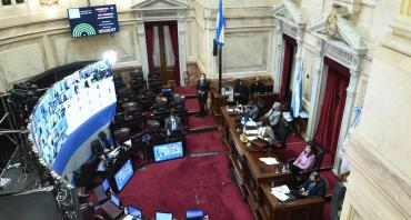 El Senado debate en sesión el proyecto de ampliación de la moratoria fiscal