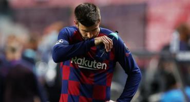 Piqué habló tras la humillante derrota del Barcelona ante el Bayern: