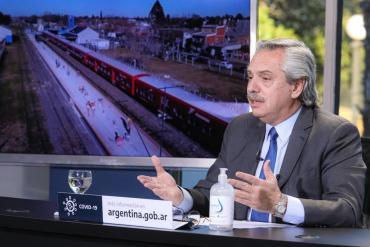 Alberto Fernández prometió que el Gobierno