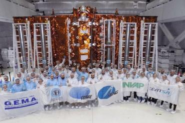 Se lanza el Saocom 1B: el satélite argentino más avanzado de la historia