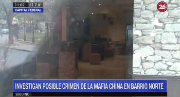 Investigan posible crimen de la mafia china en Barrio Norte