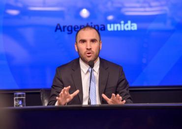 El ministro Guzmán anunció que el canje de deuda local logró una adhesión del 98,8%