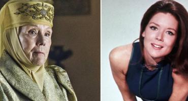 Murió Diana Rigg, una de las legendarias de Los Vengadores y Game of Thrones
