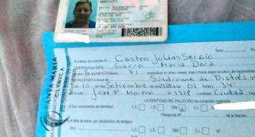 Mendoza: les dijeron que su abuela murió coronavirus, fue