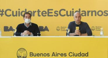La Ciudad: Rodríguez Larreta y Santilli hablaron de la seguridad y la situación de los gimnasios en el contexto de la pandemia