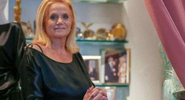 Murió la modista Elsa Serrano en incendio en su departamento de Retiro