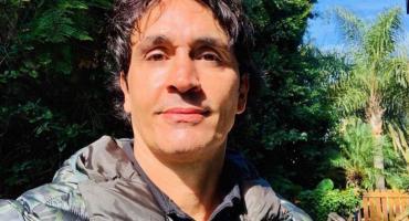 Sebastián Estevanez mostró su rostro tras accidente con bidón de alcohol