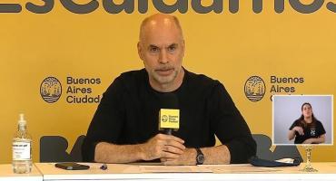 Rodríguez Larreta reiteró su pedido para que se autoricen las clases al aire libre: