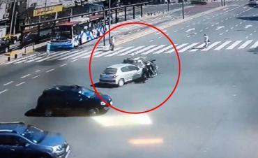VIDEO: así fue el violento accidente de moto que sufrió Nacho Viale