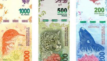 El Banco Central evaluará imprimir billetes de mayor denominación