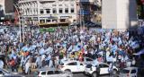 Banderazo contra el Gobierno en el Obelisco, Olivos y en diferentes puntos del país