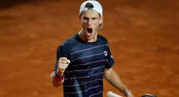 Schwartzman venció a Nadal y es semifinalista en Roma