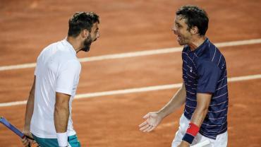 Zeballos se consagró campeón en dobles en Masters de Roma y alcanzó marca de Vilas