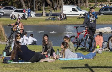 Día de la Primavera: detalles del operativo por coronavirus en parques y plazas de Capital