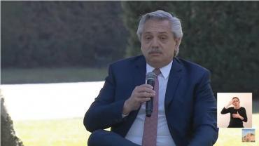 Alberto Fernández presentó el Plan de Políticas Ambientales