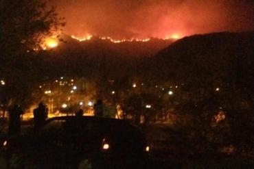 Córdoba: tres focos de incendios forestales combatidos por más de 300 bomberos, hay brigadistas heridos y evacuados