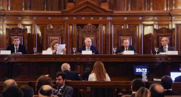 La Corte Suprema tratará la situación de jueces desplazados Castelli, Bruglia y Bertuzzi