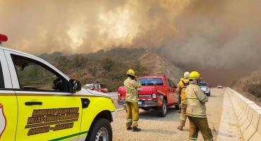 Siguen los voraces incendios en Córdoba: esperan lluvias para el fin de semana