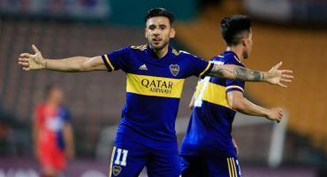 Boca le ganó sobre la hora a Independiente Medellín y quedó a un punto de clasificar a octavos de Copa Libertadores