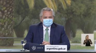 Alberto Fernández presentó Programa Acompañar: