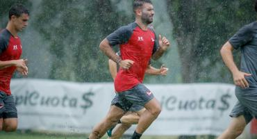 Volvía el fútbol argentino, pero por fuertes lluvias se suspendieron cuatro partidos amistosos