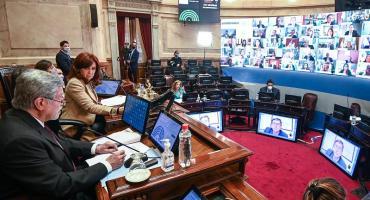 Senado rendirá homenaje a Maradona y pasará la sesión al lunes tras cuarto intermedio