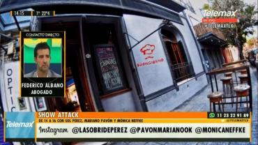 Clausura de bar en Palermo: