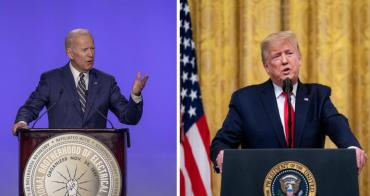 Elecciones en Estados Unidos: Trump y Biden debaten en Ohio, un estado clave