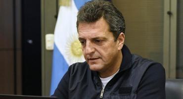 Sergio Massa condenó la muerte del policía asesinado y respaldó el uso de pistolas Taser