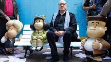 Decretan duelo nacional por el fallecimiento de Quino, el creador de Mafalda