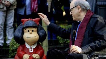 Murió Quino, el creador de Mafalda que hizo historia en el mundo