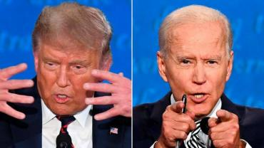 Trump vs Biden, esperando el knock out