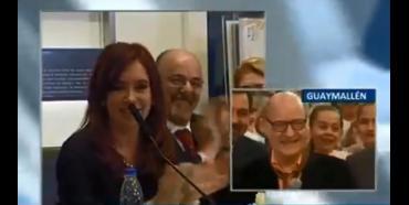 Cristina Fernández de Kirchner recordó a Quino con su divertida frase de la