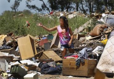 En Argentina, el 56,3% de los chicos menores de 14 años son pobres