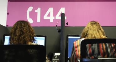 Desde el inicio de la pandemia, la Línea 144 superó los 36 mil llamados en Ciudad de Buenos Aires