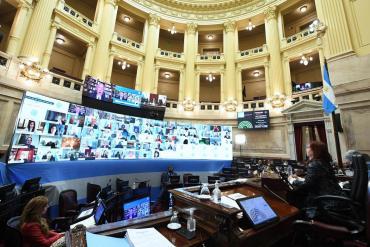 Senado: Gobierno aprobó designación de jueces, oposición se dividió entre el rechazo y abstención