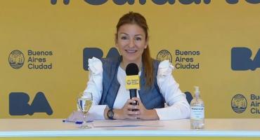 Soledad Acuña tiene coronavirus y está aislada trabajando desde su casa