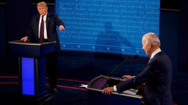 Trump y Biden tuvieron el último debate de cara a las elecciones presidenciales