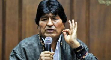 Evo Morales dejó la Argentina con destino a Venezuela, regresaría el próximo domingo