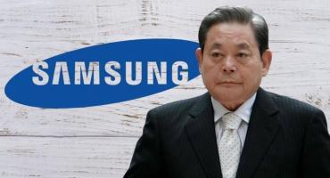 El presidente de Samsung, Lee Kun Hee, muere a los 78 años