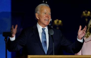 Biden, presidente electo de EEUU: