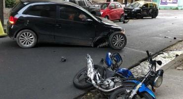 Manejaba alcoholizado, atropelló y mató a un motociclista en Floresta