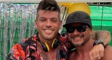 El ex Gran Hermano Cristian U fue el polémico DJ de una fiesta clandestina en plena pandemia