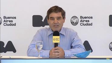 Fernán Quirós ratificó que en La Ciudad las clases comenzarán el 17 de febrero