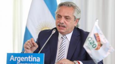 """Alberto Fernández en el G20: """"El riesgo de la segunda ola también existe en Latinoamérica"""""""